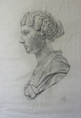 study of an antique model
