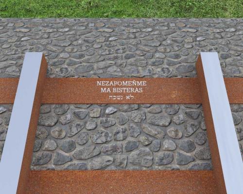 Památník holocaustu v Brně